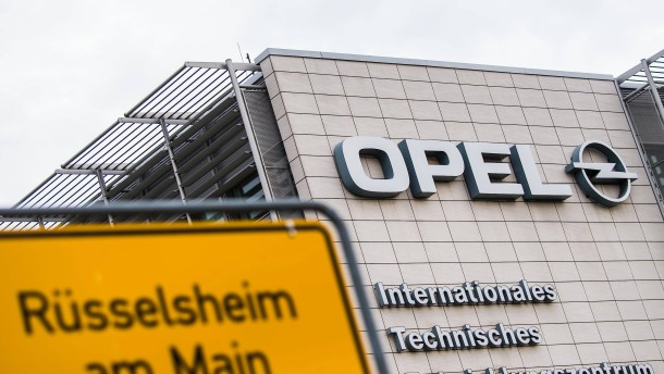 Opel drosselt Produktion in Rüsselsheim weiter
