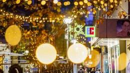 Abstandsregeln für das Weihnachtsfest