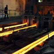 Chinesische Stahlproduktion in der Provinz Hefei