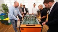 Im Handumdrehen: Im Haus 61 treffen Unternehmer auf Gründer