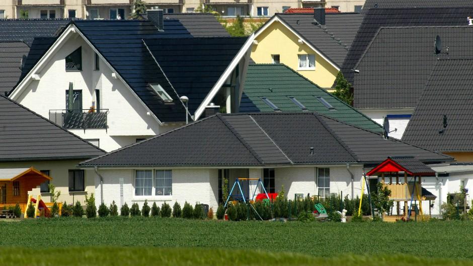 Einfamilienhäuser bei Magdeburg
