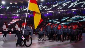Geldspritze für paralympischen Sport