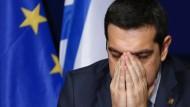 Tsipras spricht wieder mit der Troika