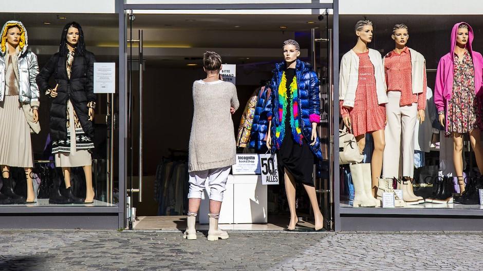 Mit den Lockerungen blüht die Mainzer Innenstadt wieder ein bisschen auf.