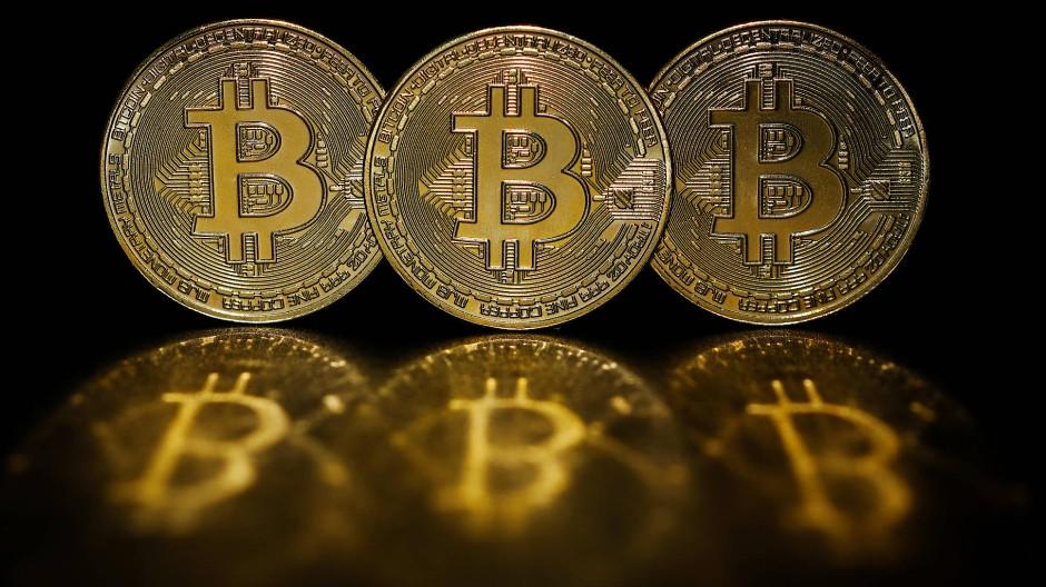 In der Theorie: Bitcoin-Münzen