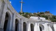Monumental: Das Valle de los Caidos, das Tal der Gefallenen, in dem bislang auch Francos Leichnam liegt.