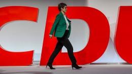 CDU will mehr Direktmandate für Frauen