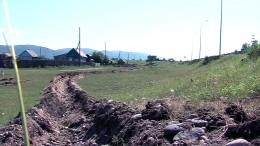 """""""Quarantäne-Graben"""" um russisches Dorf gezogen"""