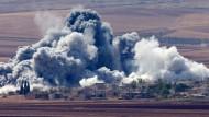 Kurden bestätigen Teilrückzug der Dschihadisten aus Kobane