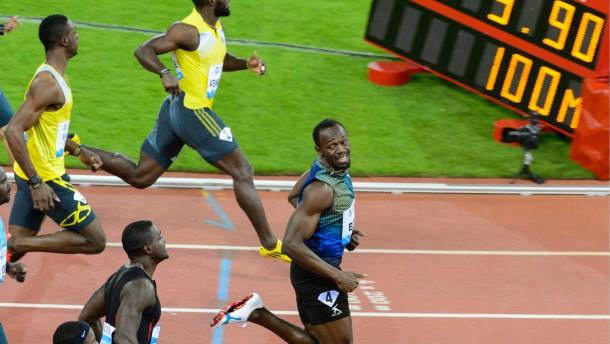 Wer am schnellsten rennt, lacht am besten