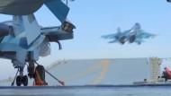 Russische Jets starten Richtung Syrien