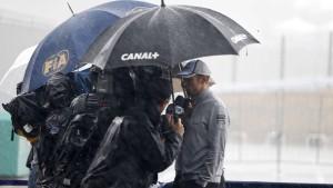 Formel-1-Rennen droht, ins Wasser zu fallen