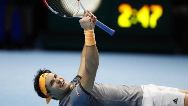 Thiem nach Sieg gegen Djokovic erster Halbfinal-Teilnehmer