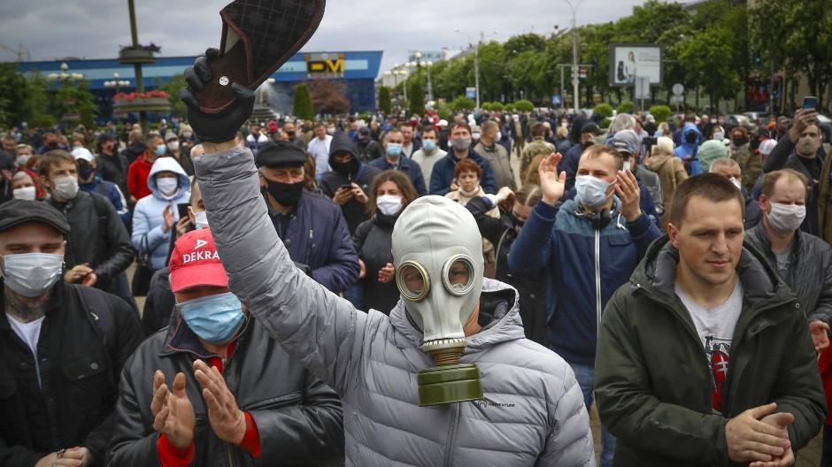 Proteste am Sonntag in Minsk