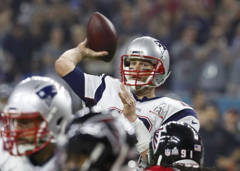 Tom Brady wirft sich in die Super-Bowl-Geschichtsbücher