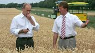 Getreide gibt es genug: Wladimir Putin will die bisher importierten Lebensmittel in Russland herstellen lassen.