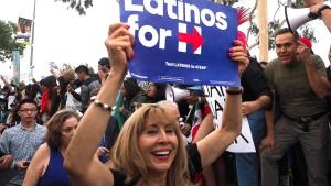 Latinos für Clinton, Schrecksekunde für Trump