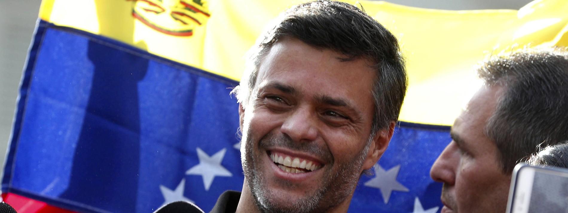 Leopoldo López soll Flucht aus Venezuela gelungen sein
