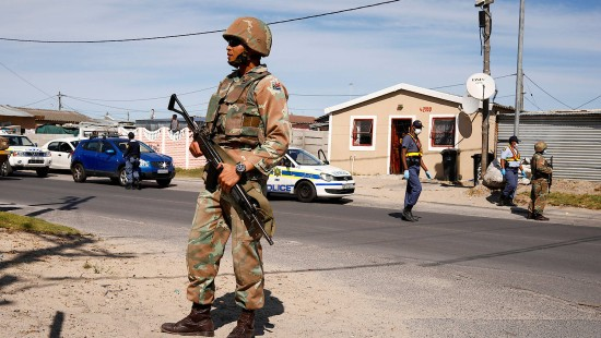 Ausgangssperre in Südafrika