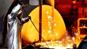 Das Leiden der Stahlindustrie