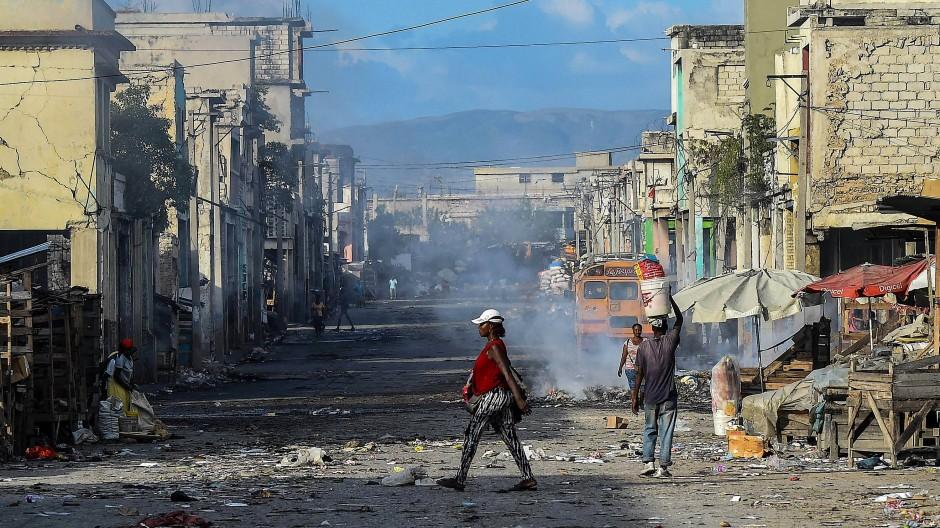 Archivbild von der Hauptstadt Port-au-Prince aus dem Dezember 2019