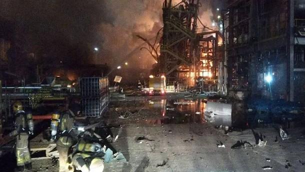 Zweiter Toter nach Explosion in Chemiefabrik