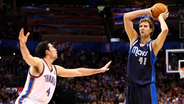 Gigantisch: Nowitzki versus Durant