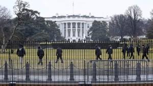 Offenbar Drohne am Weißen Haus gefunden