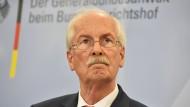 Ehemaliger Generalbundesanwalt Harald Range