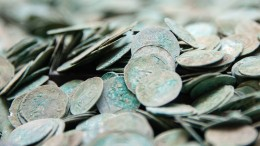 Silberschatz in Augsburg entdeckt