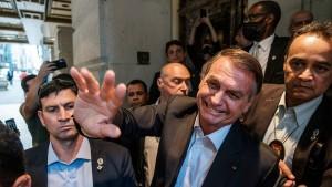 Brasilien zeigt der Welt den Mittelfinger