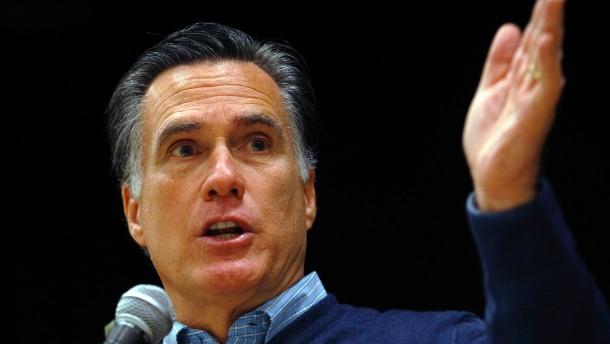 Romney gewinnt knapp in Maine