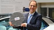 Infineon-Chef Reinhard Ploss: Das Unternehmen hat Ende September 2019 eine Hybridanleihe emittiert.