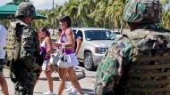 Acapulco, vergangene Woche: Nach dem tödlichen Überfall auf einen Belgier schauen wirklich alle auf den Austragungsort eines Tennisturniers