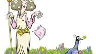 Was blüht denn da, auf der Wiese, wo Zeus und Hera es treiben?