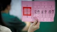 In Taiwan stehen die Bürgerinnen und Bürger vor der Wahl: Ablehnung oder Annäherung an China?