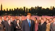 """Vom Fernsehen ins Weiße Haus: das Titelbild von Trumps Fernsehshow """"The Apprentice"""""""