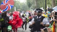 Über 400 Festnahmen beim Karneval von Notting Hill