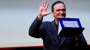 Quentin Tarantino für sein Lebenswerk ausgezeichnet