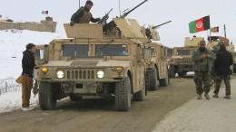 Amerikanischer Militärjet über Taliban-Gebiet abgestürzt