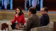 TV-Moderatorin Anne Will diskutiert mit ihren Gästen über die Präsidentschaft von Donald Trump.