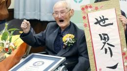 Der älteste Mann der Welt ist gestorben