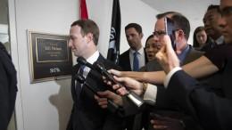 Abgeordnete wollen Zuckerberg hart angehen