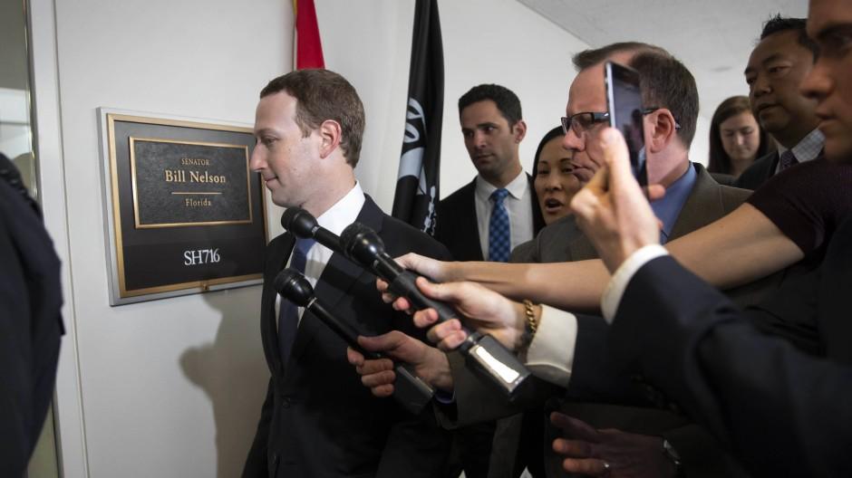 Am Dienstag will sich Facebook-Gründer Mark Zuckerberg im Rahmen der Anhörung vor dem amerikanischen Kongress entschuldigen.