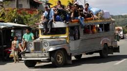 Jeepneys sollen von den Straßen verschwinden