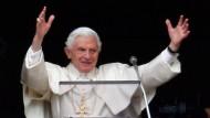 Warnt vor Einmischung vor dem Konklave: Der Papst bei seinem letzten Angelus-Gebet