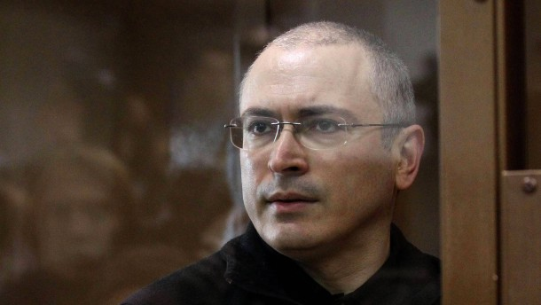 Chodorkowskij: Putin steigert Einsatz bis ins Endlose