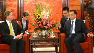 Westerwelle dankt in Peking China