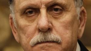 Regierungschef Sarradsch nimmt Rücktrittsankündigung zurück