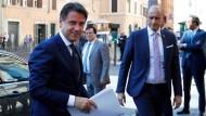 Giuseppe Conte leitete die Koalitionsverhandlungen der neuen italienischen Regierung.